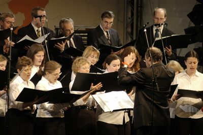 The Embassy Singers in Berlin, 2004 © Kai Bienert